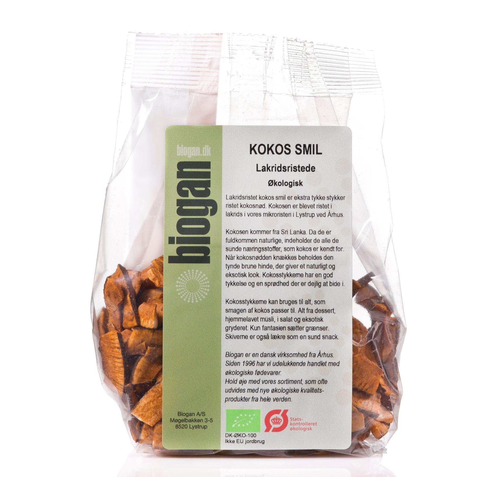 5466ac94f0c4 Økologiske kokos smil med lakrids | Biogan